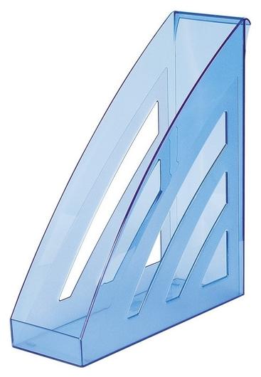 Вертикальный накопитель Attache City 90мм прозр. синий  Attache