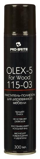 Профхим интерьер пена-полироль для дер.мебели Pro-brite/olex-5 For Wood, 0,3л  Pro-brite