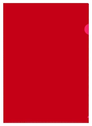 Папка уголок, 150 мкм, красный 10шт/уп россия  Attache
