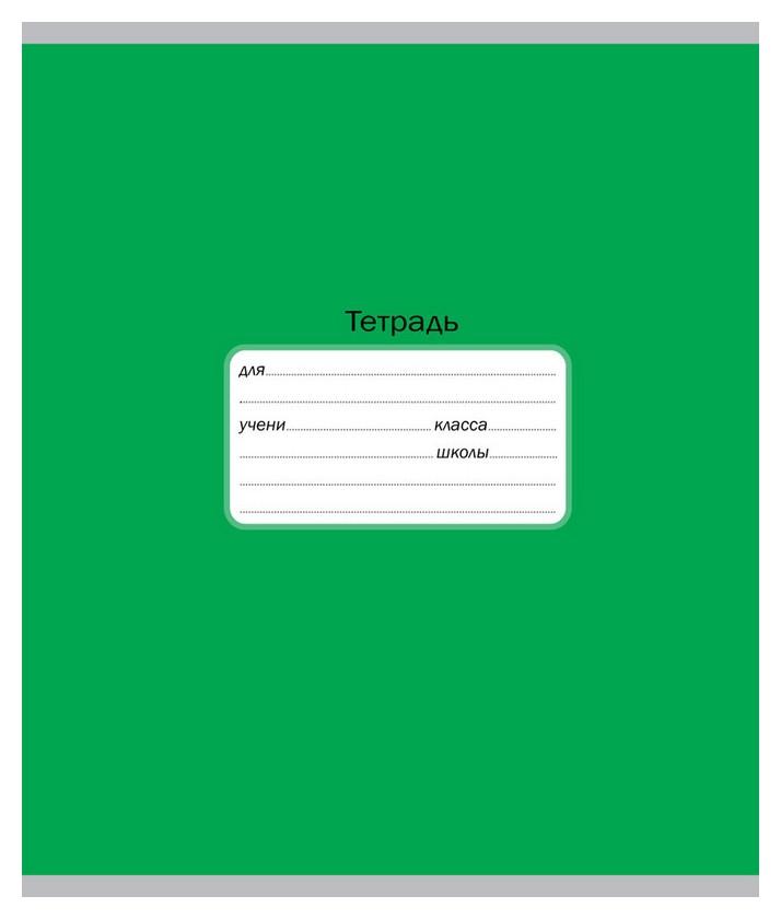 Тетрадь школьная а5,12л,косая линия однотонная.интенсив зеленая тш12к9571  Мировые тетради