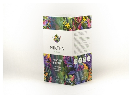 Чай Niktea брайт, 25 пак  Niktea