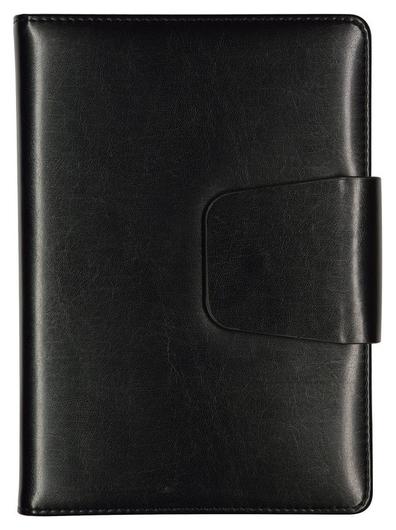 Ежедневник недатированный A5,160 л. Prestige черный, 3-352/01  Bruno Visconti
