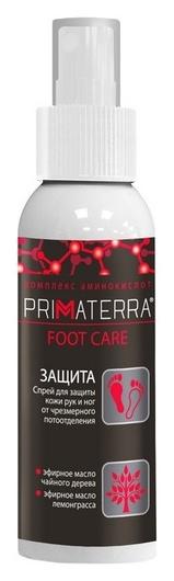 Спрей защитный Primaterra Foot Care для ног дезодорирующий 100 мл  Primaterra