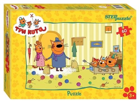 Пазл 60 элементов Три кота арт.81152  Step puzzle
