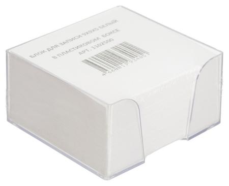 Блок для записей в подставке 9х9х5 белый блок  NNB