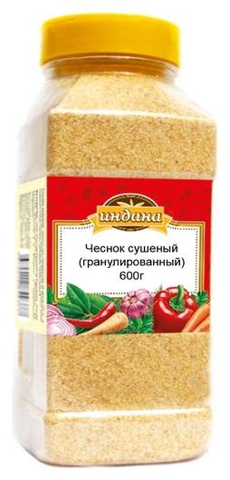 Приправа индана чеснок сушеный (Гранулированный), 600г  Индана
