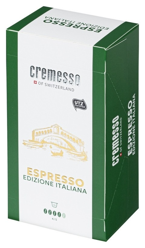 Кофе в капсулах Cremesso Espresso Italiano 16 порций  Cremesso
