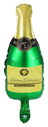 Шар фольгированный 9 бутылка шампанского арт.2769741 NNB