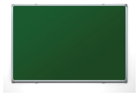 Доска меловая - магнитная зеленая 100х150 Attache россия  Attache