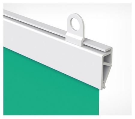 Комплект пластиковых подвесных профилей для плакатов, Clicker длина 600мм  NNB