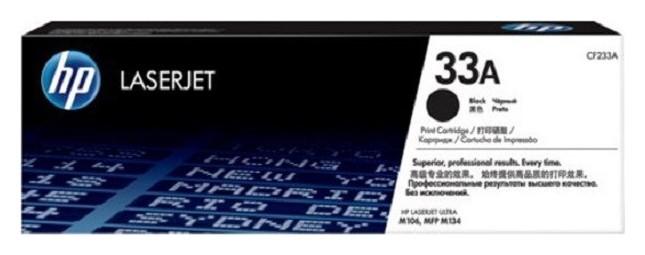 Тонер-картридж HP 33A Cf233a чер. для LJ Pro M106/m134  Hp