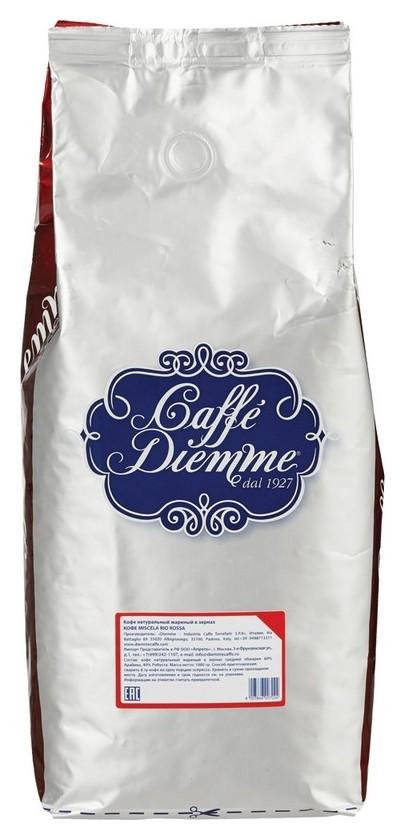 Кофе Diemme Caffe Miscela Rio Rossa в зернах, 1 кг  Diemme Caffe