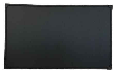 Доска магнитно-меловая 1-эл.100x150 см черный  Attache