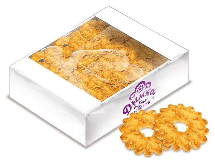 Печенье дымка кольцо с орехом, 2,4кг  Дымка