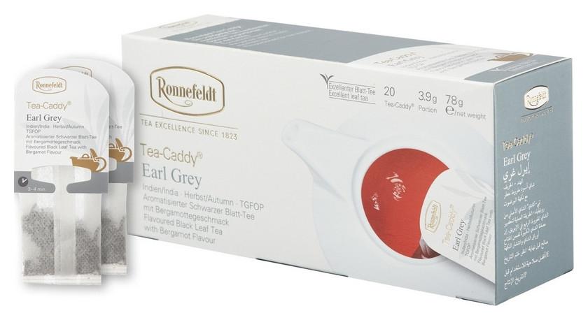 Чай Ronnefeldt Tea Caddy Earl Grey черн., 20пакx3,9гр/уп  Ronnefeldt