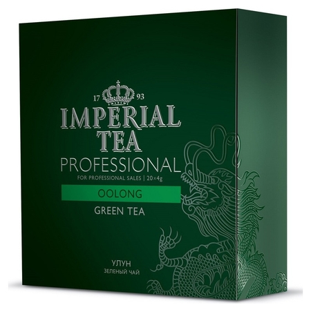 Чай императорский грандпак улун, 20 пак X 4гр/уп73-59  Императорский чай