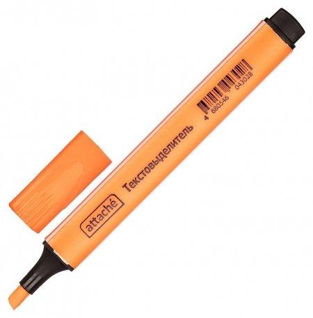 Маркер выделитель текста Attache оранжевый 1-4 мм треугольный  Attache