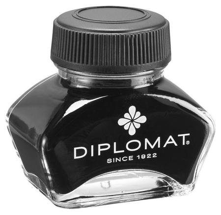 Чернила 30мл Diplomat черный D20000324  Diplomat