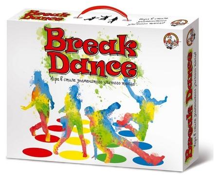 Настольная игра для детей и взрослых Break Dance арт.01919  Десятое королевство