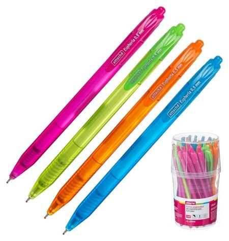 Ручка шариковая Attache Euphoria синий ст., авт., ассорт.корп  Attache