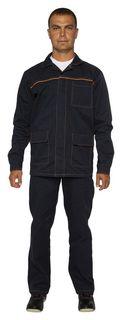 Спец.одежда летняя костюм мужской л28-кбр т.синий (Р.64-66) 170-176