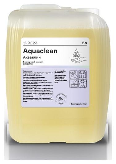 Антисептик кожный акваклин, бесспиртовой 5 л  Acea