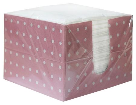 Салфетки 1сл 100л/уп белые в коробке  NNB