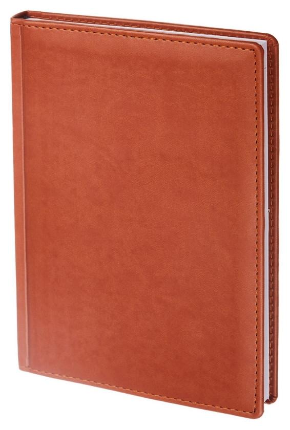 Ежедневник недатированный коричнев,а5,148х218мм,176л,attache вива Attache