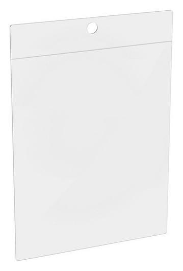Карман настенный для информации подвесной из мягк. ПВХ FW, А6, 50шт/уп.  NNB