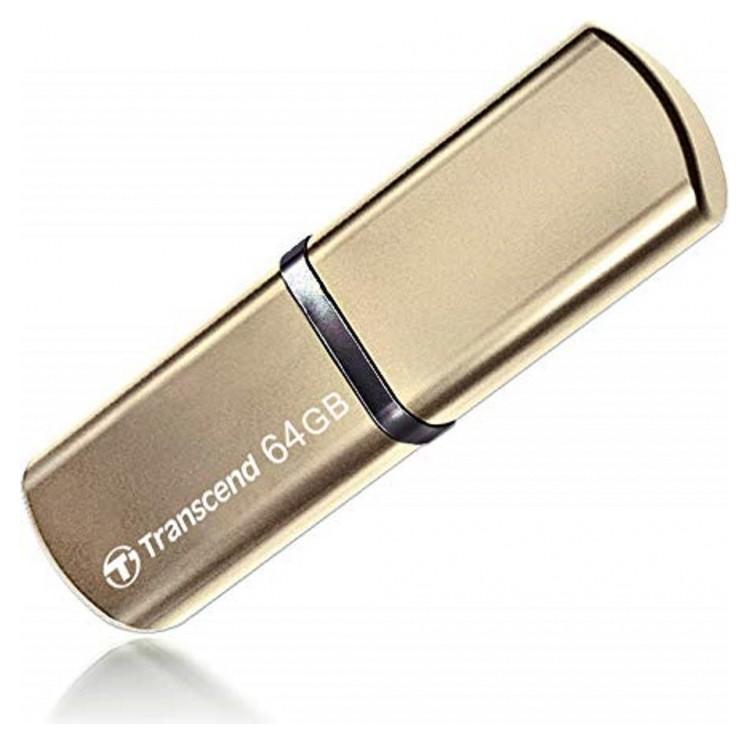 Флеш-память Transcend Jetflash 820, 64gb, USB 3.1 G1, зол, Ts64gjf820g  Transcend