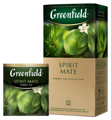 Чай Greenfield Spirit Mate травян, 25пак  Greenfield