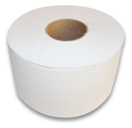 Бумага туалетная для дисп 1сл бел макул втул 200м 12рул/уп 200w1  NNB