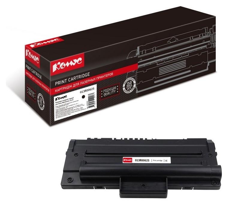 Картридж лазерный комус 013r00625 чер. для Xerox WC 3119  Комус