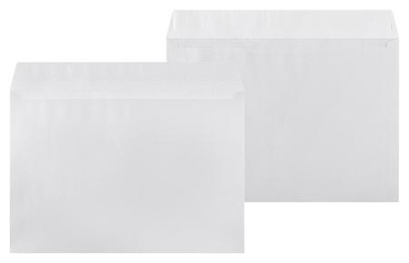 Конверты белый Postfix С4 стрип 229х324, 90г/м2 50шт/уп  КНР