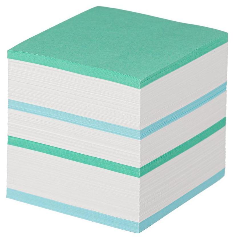 Блок для записей Attache Economy запасной 9х9х9 цветной 65 гр 92  Attache