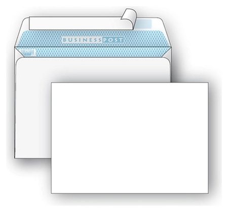 Конверты белый С4 стрип Businesspost 229х324 250шт/уп/3752  Packpost