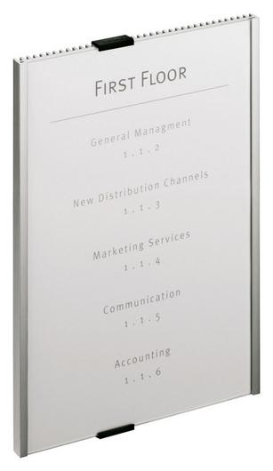 Информационное оборудование табличка Durable Info Sign 210х297мм настенная  Durable