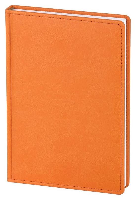 Ежедневник недатированный оранжевый,а5,143х210мм,176л,attache сиам  Attache