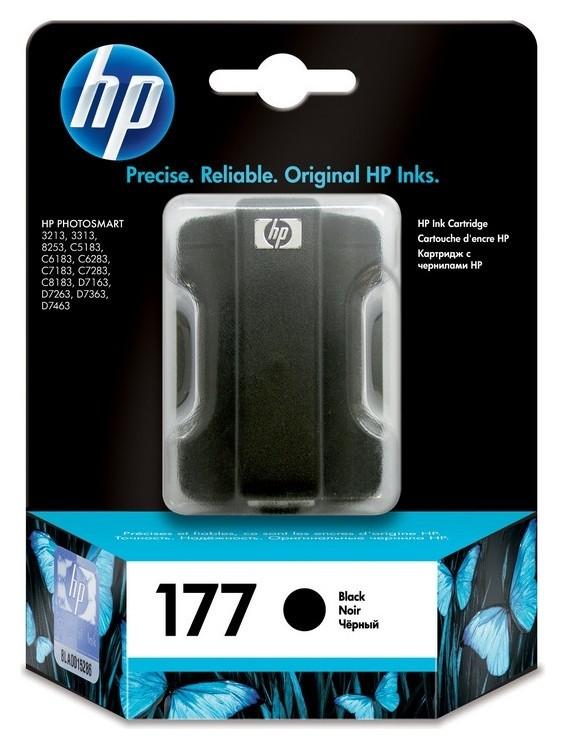 Картридж струйный HP 177 C8721he чер. для Phsm C5183/c6183  Hp