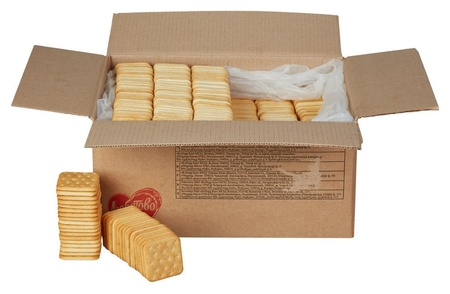 Печенье крекер янтарный с солью 5,5 кг  Любятово