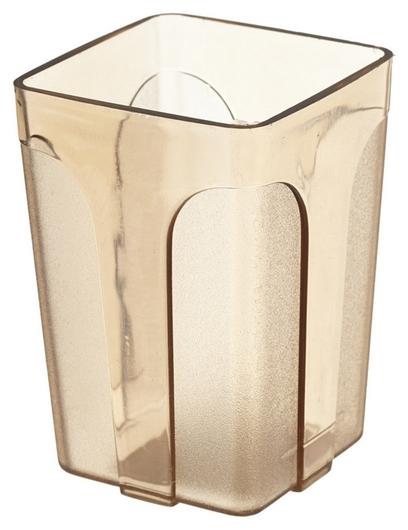 Подставка стакан Attache City, прозр.коричневый  Attache