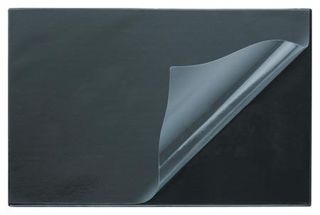 Коврик на стол Attache 38х59см черный с прозрачным листом  Attache