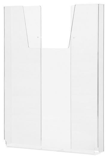 Карман настенный Attache А3 объемный 1 отделение вертикальный акрил  Attache