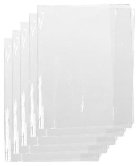 Обложка №1school для учеб,конт.карт,тетрад,300х460,пвх,150мкм, 5 шт/уп  №1 School