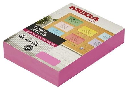 Бумага цветная Promega Jet (А4,75г,малиновый неон) пачка 500л  ProMEGA