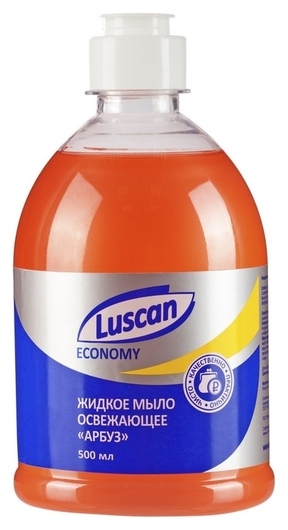 Мыло жидкое Luscan Economy арбуз 500мл флип-топ  Luscan