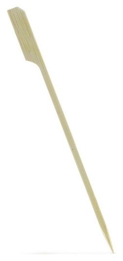 Пики для канапе гольф Maxi, прочные 18cм, бамбук, 100 шт/уп (401-905)  Aviora