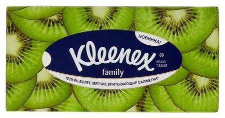 Салфетки косметические Kleenex Family 150шт/уп  Kleenex