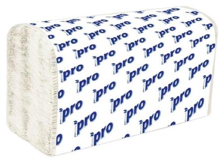 Полотенца бумажные для дисп.protissue 1сл бел 250л/пач 20пач/кор V-слож.c192  PROtissue