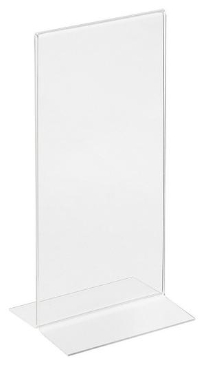 Подставка настольная Attache 1/3 А4 вертикальная двусторонняя акрил  Attache